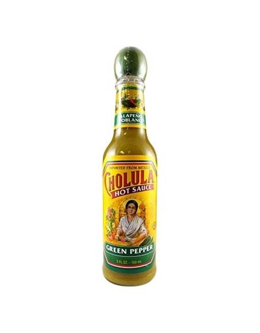 Salsa Picante Cholula Green Pepper