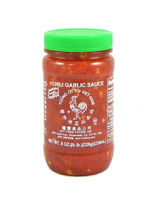 Salsa Picante Huy Fong Fresh Chili Garlic