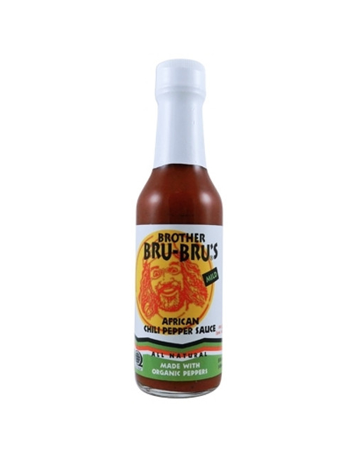 Salsa Picante Brother Bru's Mild African Organic Chili Pepper