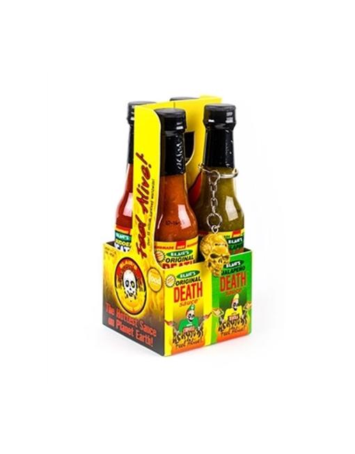 Salsa Picante Blair's Death Sauce Minis 4 Pack