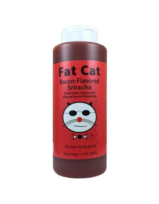 Salsa Picante Fat Cat Bacon Flavored Sriracha
