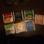 Selección de tés de Koh Lanta Cañitas