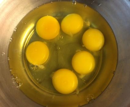 Huevos para el omelette