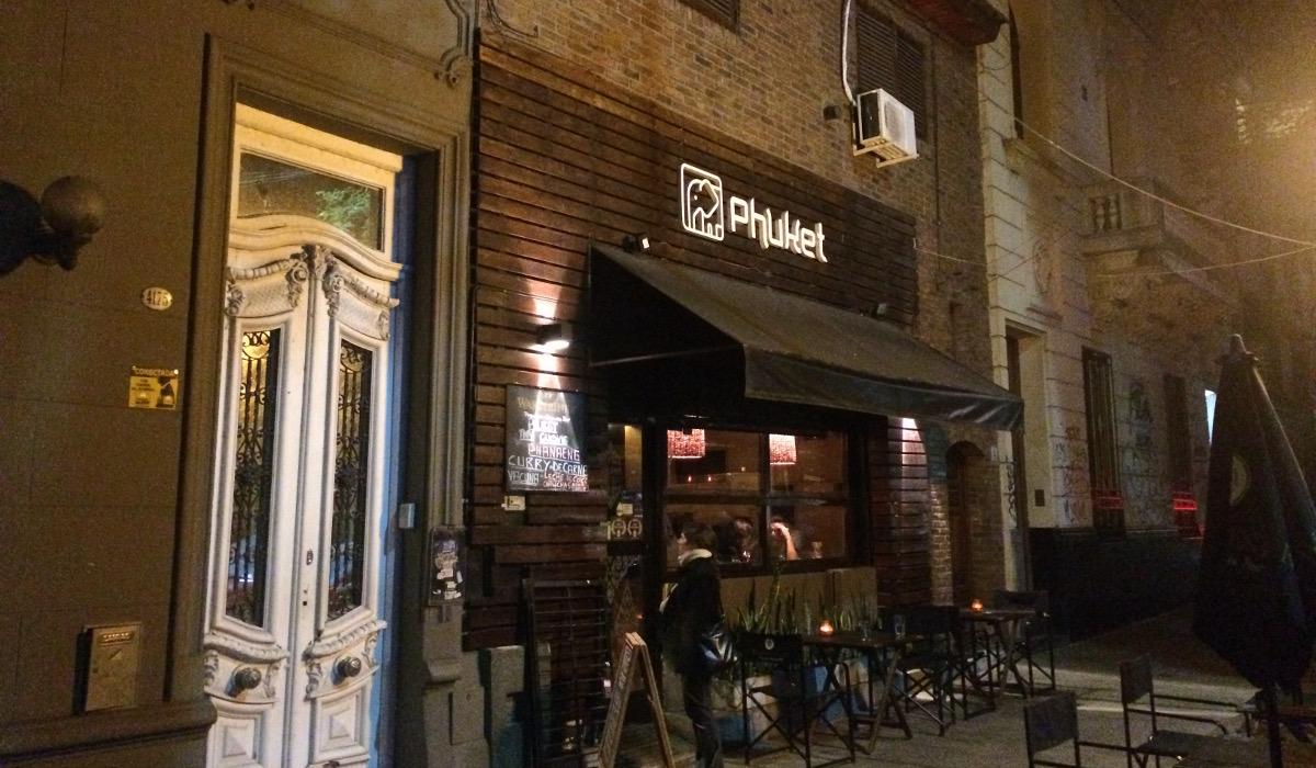 Frente de Restaurante Phuket Palermo Buenos Aires