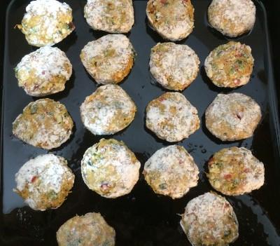 Buñuelos de zapallo al horno