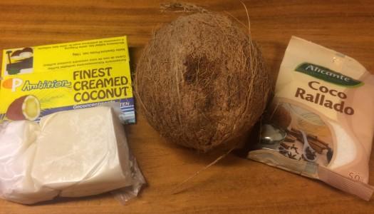 Cómo preparar el agua de manteca de coco