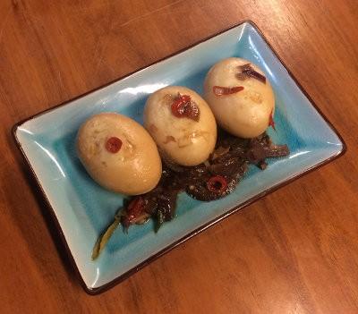 Huevos de Bali emplatados