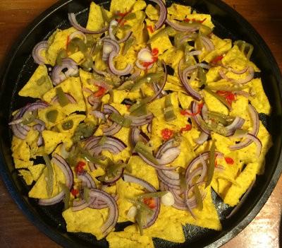 ingredientes para nachos del horno