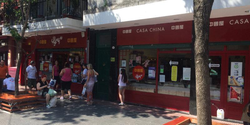 Supermercado Casa China Barrio Chino de Buenos Aires