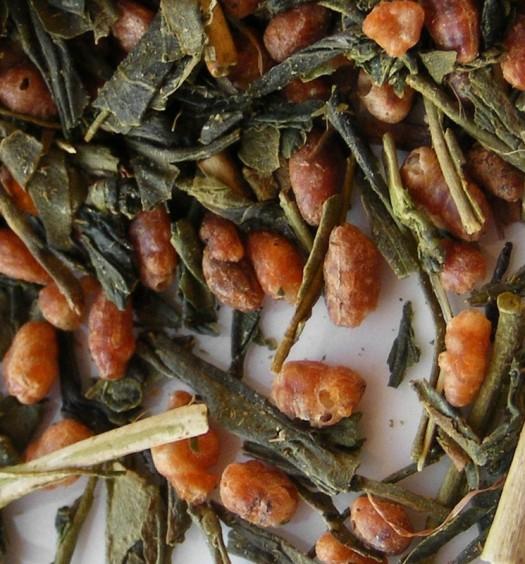 Genmaicha (té japonés de pochoclo)