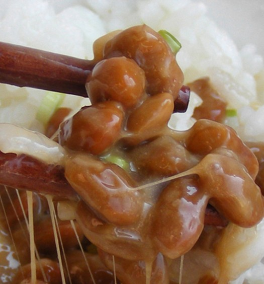 Natto soja fermentada de Japón