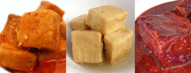 Soja fermentada (sufu)