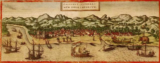 Negocio de especias en la India colonial