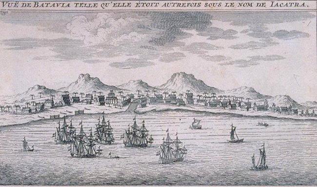 Bateaux de la Compagnie néerlandaise des Indes orientales