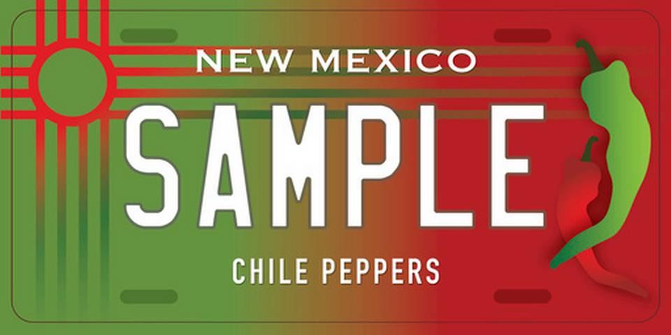 Ejemplo del Diseño de Patente de Chiles Nuevo México 1