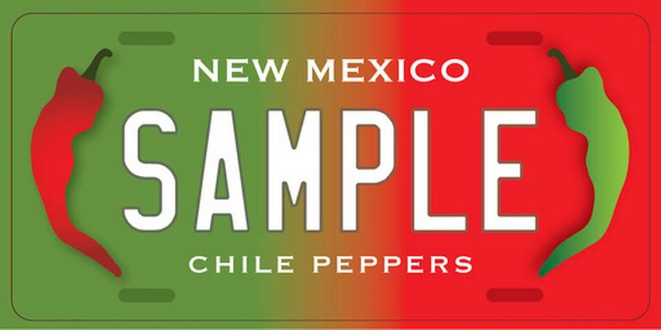 Ejemplo del Diseño de Patente de Chiles Nuevo México 3