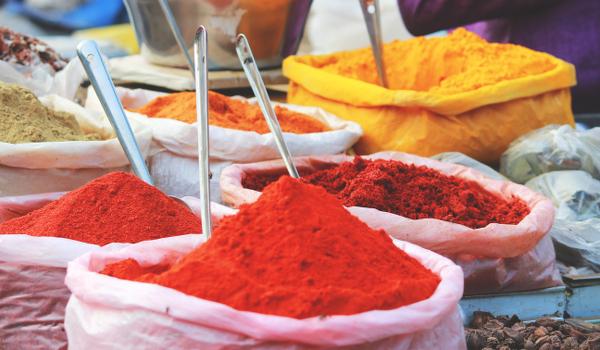 Chiles y Morrones en polvo