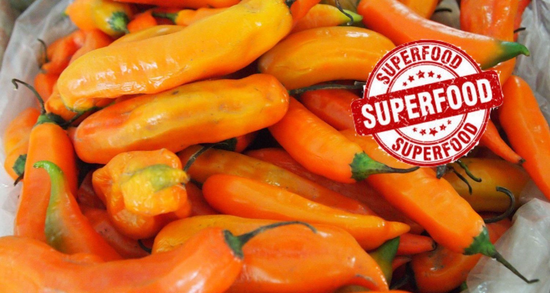 """Chiles declarados """"Superfood"""" en Perú"""
