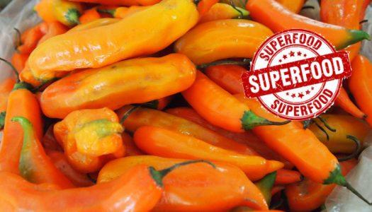 """Los chiles son declarados """"Super Alimentos"""" por estudio en Perú"""